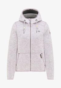 Schmuddelwedda - Fleece jacket - rauchlila melange - 4