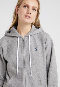 Polo Ralph Lauren - SEASONAL - Zip-up hoodie - dark vintage heather - 5