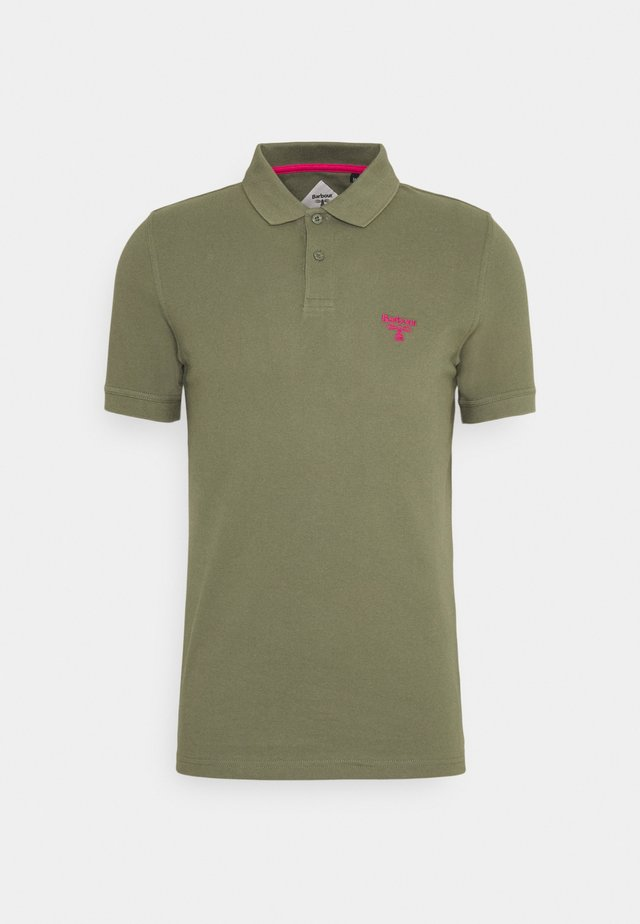 Poloshirts - light moss
