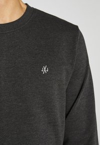 Jack & Jones - JORBASIC CREW NECK 2 PACK - Sweatshirt - dark grey melange - 5