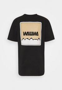 WAWWA - UNISEX NUUK SAGE - Print T-shirt - black - 1