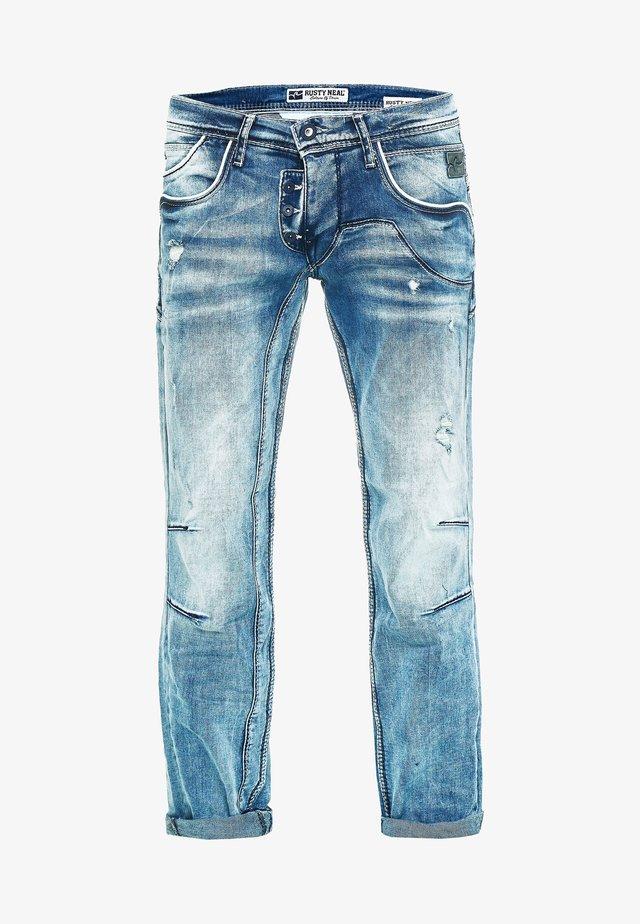Straight leg jeans - hell blau