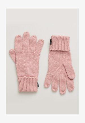 HERITAGE - Gloves - nappa pink