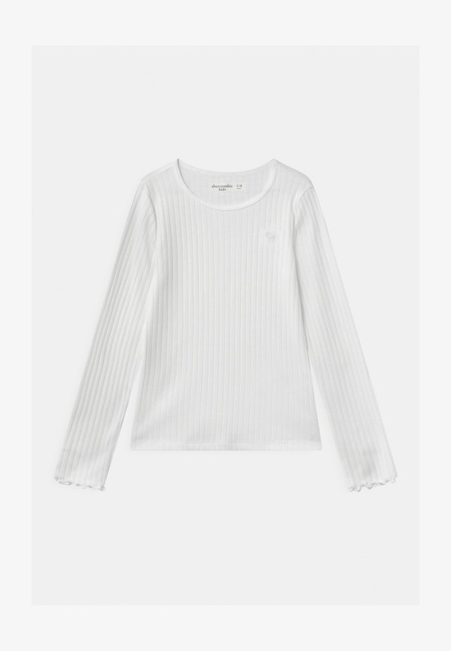 OUTFIT COMPLETER - Long sleeved top - white
