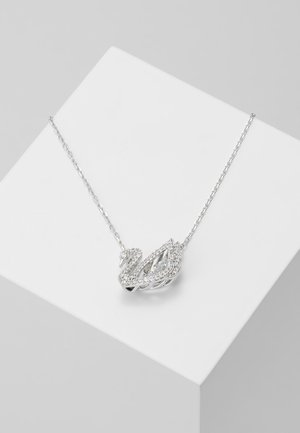 DANCING SWAN NECKLACE - Collar - white