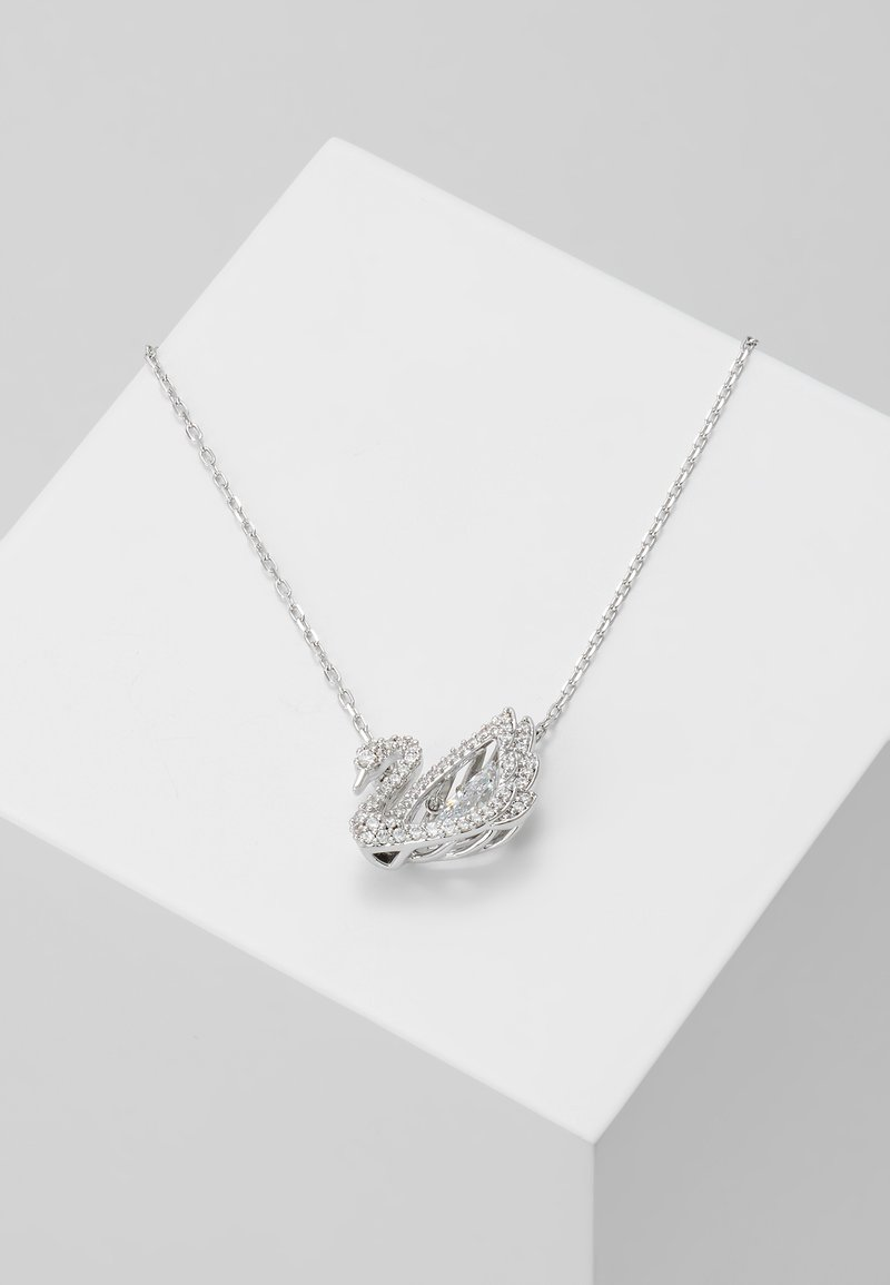 Swarovski - DANCING SWAN NECKLACE - Collana - white