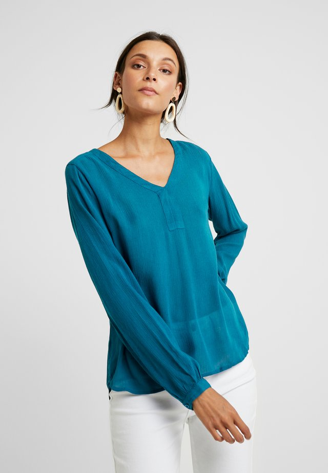 AMBER BLOUSE - Camicetta - moroccan blue
