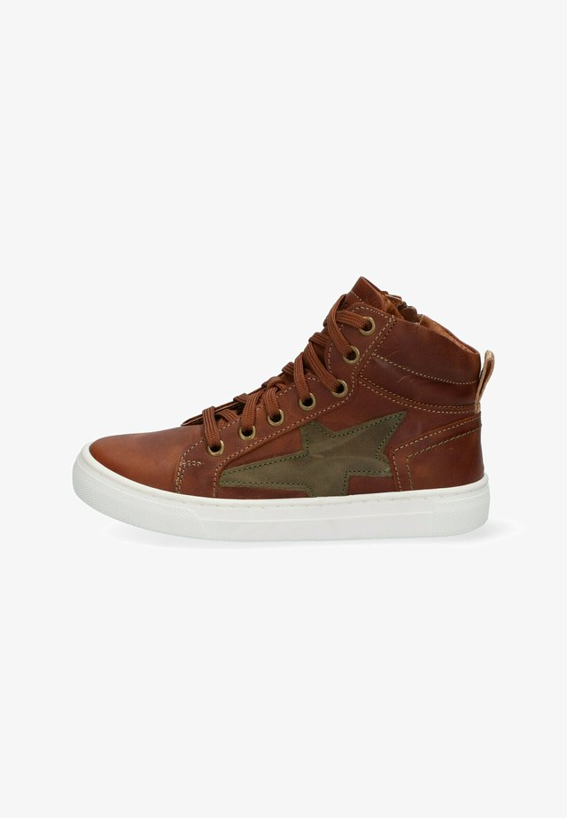 DIGGY DAY - High-top trainers - brown
