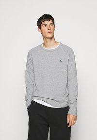 Polo Ralph Lauren - LONG SLEEVE - Sweatshirt - andover heather - 0