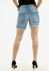 PLEASE - Denim shorts - bleu - 2