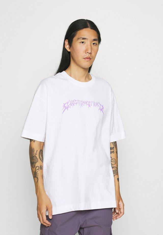 OVERSIZED REAPER UNISEX - Print T-shirt - white