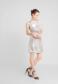 NAF NAF - LASHIN - Cocktail dress / Party dress - silver - 1
