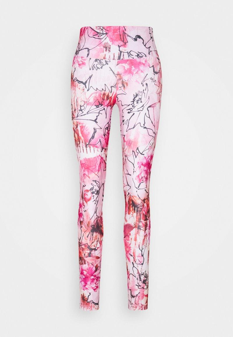 Guess - LEGGINGS - Leggings - pinkish