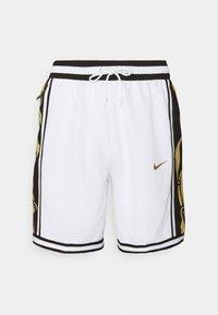 Nike Performance - DRY DNA SHORT - Short de sport - white/saturn gold - 3