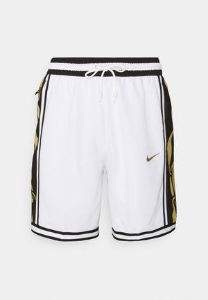 DRY DNA SHORT - Sports shorts - white/saturn gold