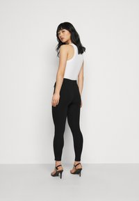 New Look Petite - PONTE - Leggings - Trousers - black - 2