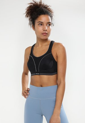 ULTIMATE RUN - High support sports bra - schwarz