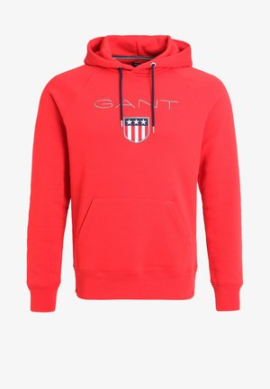 SHIELD HOODIE - Huppari - bright red