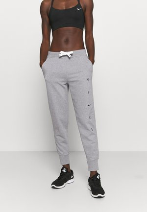 DRY GET FIT PANT - Spodnie treningowe - carbon heather/smoke grey/black