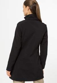 CMP - WOMAN ZIP HOOD - Soft shell jacket - nero - 3