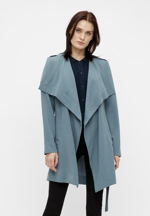 OBJANNLEE SHORT - Trenchcoat - blue mirage