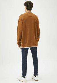 PULL&BEAR - Sweatshirt - mottled brown - 2