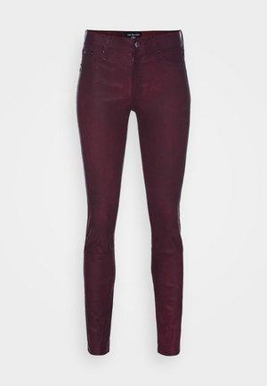 PANT  - Kožené kalhoty - red