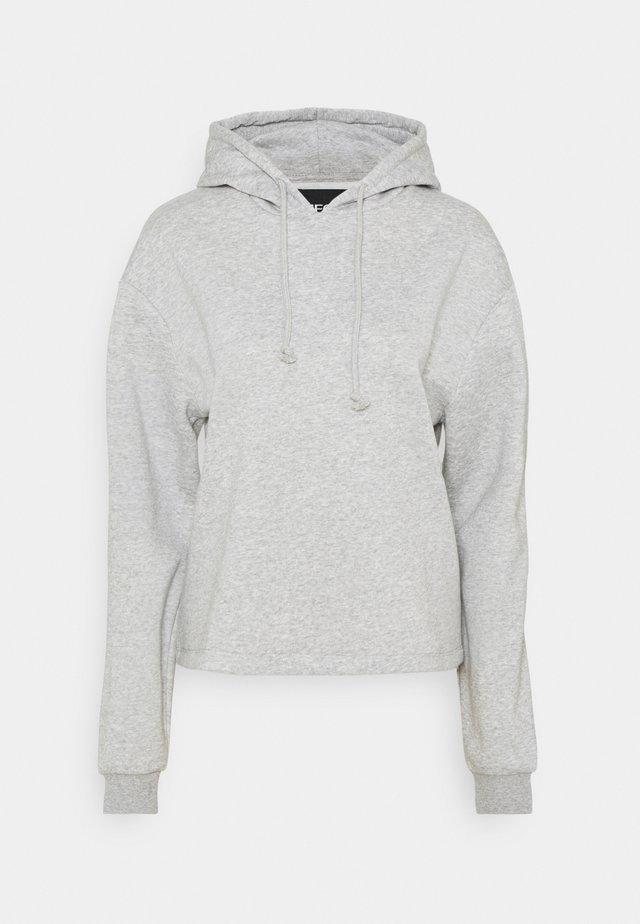 PCCHILLI HOODIE - Huppari - light grey melange