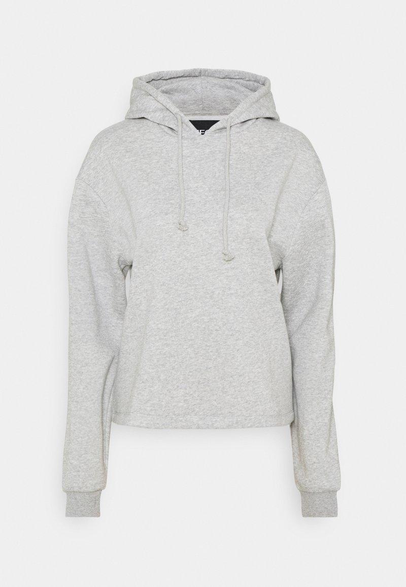 PIECES Tall - PCCHILLI HOODIE - Hoodie - light grey melange