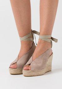 Vidorreta - High heeled sandals - piedra - 0