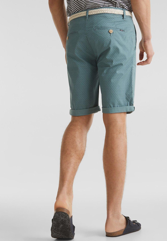 Esprit MIT GÜRTEL - Shorts - teal green