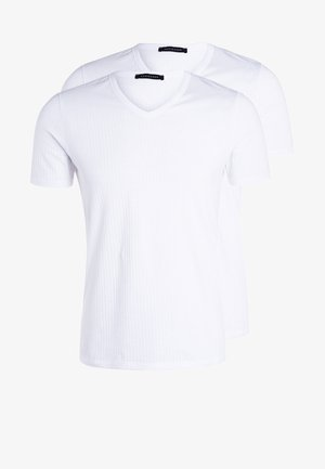 2 PACK - Camiseta interior - weiß