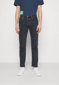 Levi's® - 501® LEVI'S® ORIGINAL FIT - Jean droit - dark indigo worn in - 0