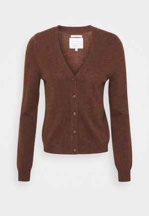 Cardigan - forrest brown melange