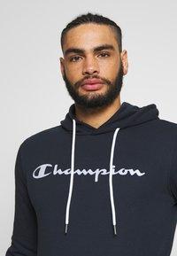 Champion - HOODED - Felpa con cappuccio - dark blue - 3