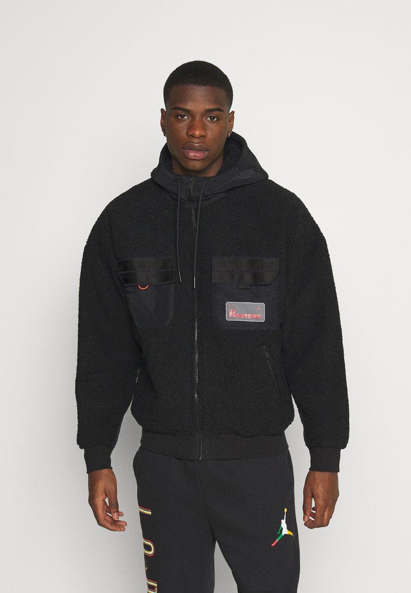 Jordan - Fleece jacket - black