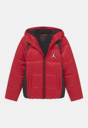 FLIGHT PUFFER UNISEX - Zimní bunda - gym red