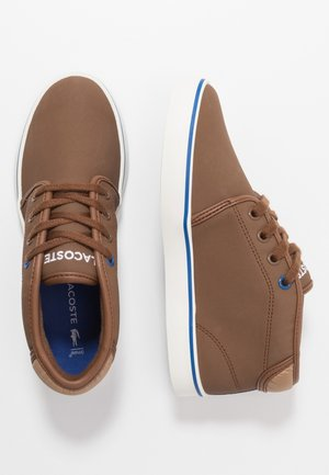 AMPTHILL THERMO - High-top trainers - brown/blue