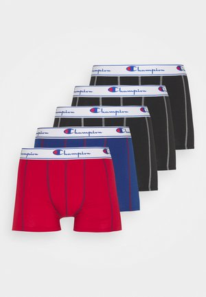 5 PACK - Pants - white/blue/red