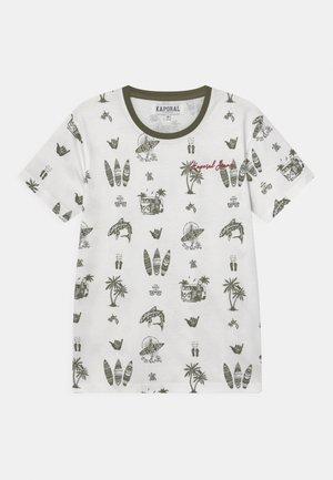 SURFER - T-shirt print - white