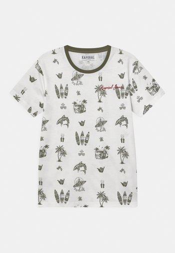 SURFER - Print T-shirt - white