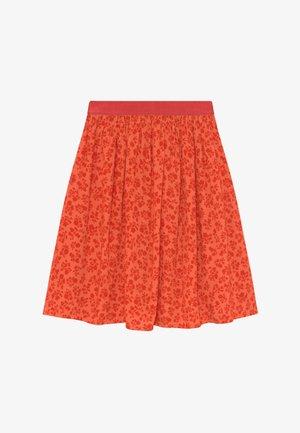 FLOWER JAM SAGALINA - Áčková sukně - red