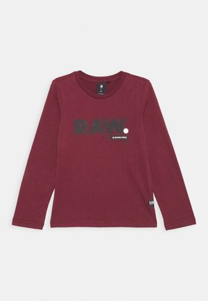 TEE - Long sleeved top - port red