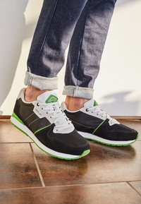 Replay - CLASSIC WEST - Sneakers - black/white/green - 4