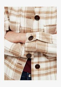 s.Oliver - Light jacket - offwhite check - 6