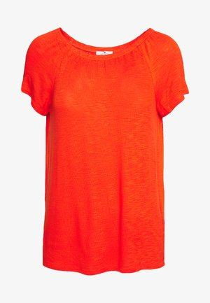 CARMEN SOLID - Print T-shirt - strong flame orange