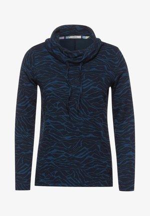 JACQUARD - Långärmad tröja - blau