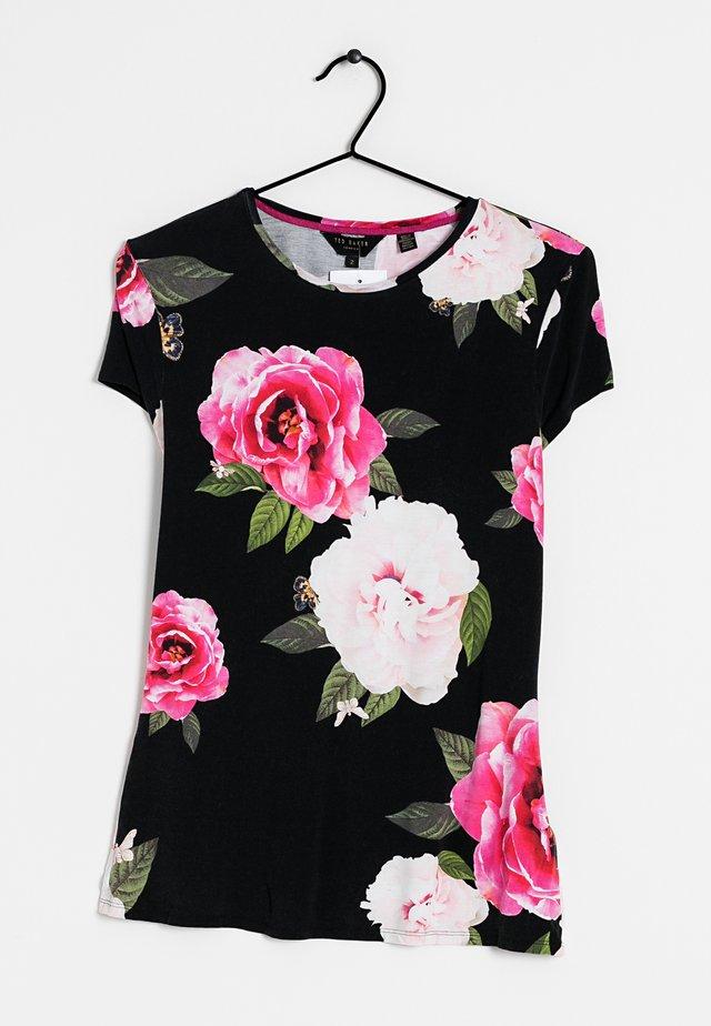 T-shirt print - multi colored