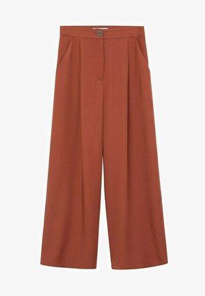 MOMO - Trousers - orange brûlé