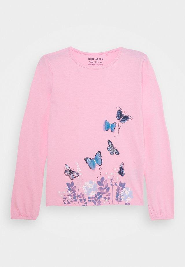 GIRLS STYLE - Langærmede T-shirts - pink